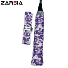 20 pcs NEW ZARSIA PU Geometric pattern ZR-08 tennis racket Overgrip tacky feel badminton racket over grip