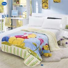 Ткань Дисней, одеяло с Винни-пухом, летнее одеяло, постельные принадлежности, хлопок, покрывало для кровати, 3D принты, мультяшный декор для спальни, для детей, для мальчиков, для детей