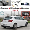 For Buick For Excelle XT 2009 2013 Special WiFi Camera Wireless Receiver Mirror Screen 3in1 Back