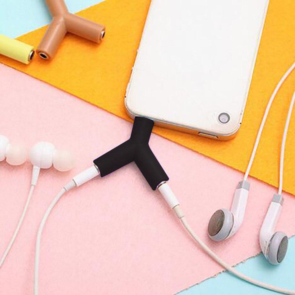 3.5mm Stereo Earphone Headphone Audio Y Splitter Headphone Cable Y Jack Male To 2 Female MF 3.5mm Stereo Earphone Z70