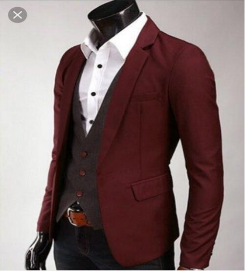 Latest Coat Pant Designs Burgundy Groom Tuxedos Casual Wine Red Wedding Suits For Men Suit Notched Lapel Jacket Ternos In From S Clothing