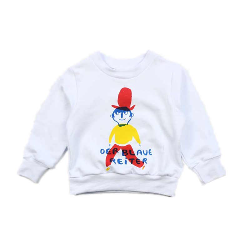Thương Hiệu Áo Sơ Mi Tay Dài Cho Bé Trai Và Bé Gái Trẻ Em Mùa Thu Mùa Xuân Choses In Sweatershirt Cho Trẻ Em Bé Trẻ Em Quần Áo