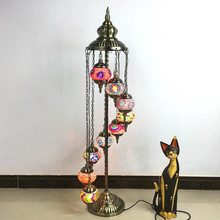 Vintage LED Floor Lamp Living Room Bedroom Standing Lamp Stair Light Dining Room Reading Stand Light Study Classic Stand Lamp