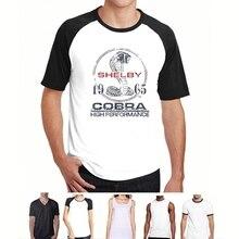 04b585f32 funny t shirt men novelty tshirt Shelby Fast Track T-shirt(China)
