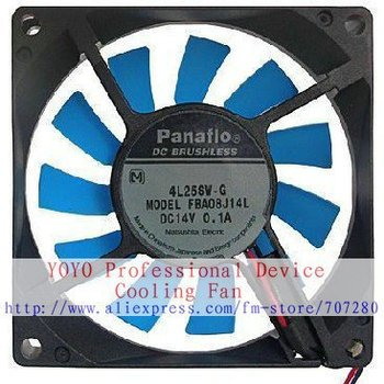 New Original NMB 8cm FBA08J14L 80x80x15MM DC14V 0.1A HWB  for Refrigerator cooling fan new original for refrigerator cooling fan motor fan bcd 649wdce bcd 579we dla5985haeh 0064000944