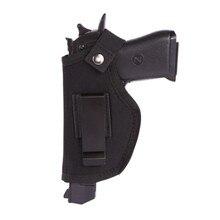 Левая и правая универсальная пушка кобура скрытый ремень с кобурой металлический зажим кобура для страйкбола пистолет сумка товары для охоты для всех S