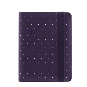 Image 1 - YIWI New A5 A6 A7 Purple Color Gold Ring Planners Agenda Notebooks Journal Kawaii DIY Stationery Wholesale Dokibook Abook