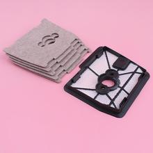 Air Filter Base Cover Cleaner Set For Stihl FS500 FS550 FS550L FS360 FS420 FS420L Trimmer Replace Spare Part 4116 120 1602