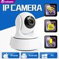 1.0MP Câmera IP Sem Fio WIFI IR-Cut Night Vision Áudio Bidirecional HD 720 P CCTV PTZ Câmera de Vigilância P2P Nuvem APP Móvel Vista