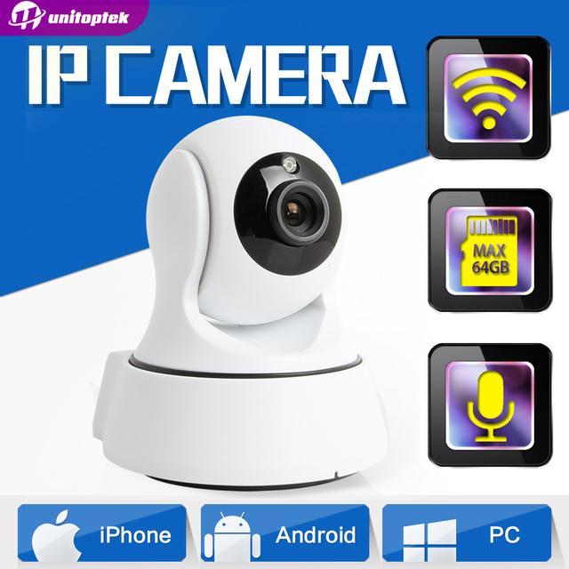 1.0MP WIFI Cámara IP Wireless IR-Cut Visión Nocturna Audio de Dos Vías HD 720 P PTZ Cámara de Vigilancia CCTV P2P Nube APP Móvil Ver