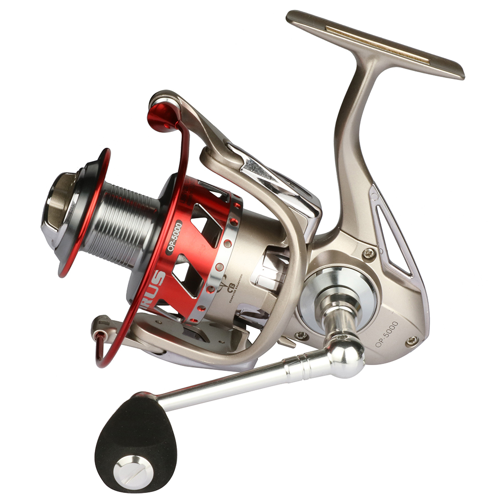 YOLO OP moulinet de pêche en aluminium bobine roue de mer en eau salée carpe 12 + 1 roulement équipement de pêche