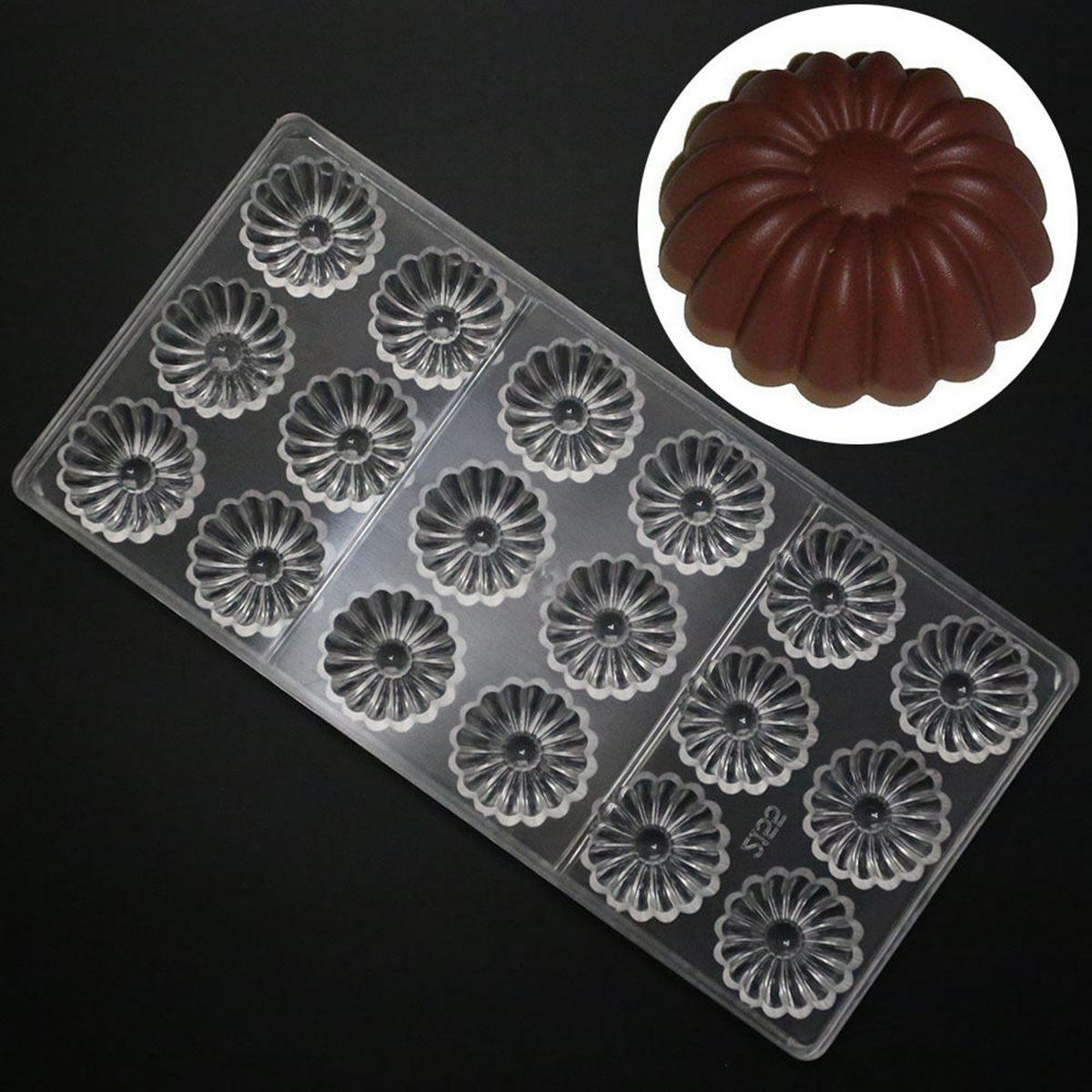 Girasol Molde Del Caramelo de Chocolate Fondant Moldes De Galletas de Plástico t