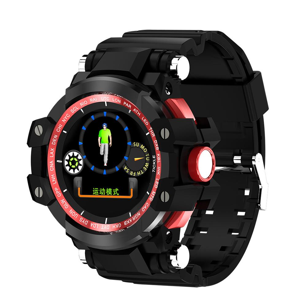X6plus 1.04 Inch IP68 Color Screen Bluetooth Camera Blood Pressure Heart Rate Step Information Push Anti-smart Sports Watch