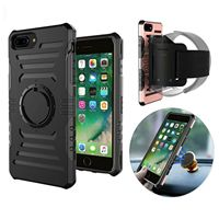 For IPhone 8 5 6 6s 7 Plus Samsung Galaxy S7 S8 ArmBand Holder For Running
