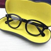 Retro Johnny Depp Optical Glasses Frame Men Women Myopia Computer Reading Eyeglasses Optical Prescription Brand Eyewear Oculos