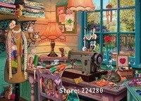 Handarbeiten  kreuzstich Exquisite Nähen Landschaft Handgemachtes 14CT Leinwand DIY  DMC  kreuzstich kits  stickerei Kunst Wohnkultur|cross stitch|diy dmc14ct cross stitch kits -