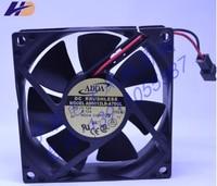 ADDA AD0812LB A70GL 80*80*25 12V 0.12A 2 wire case fan