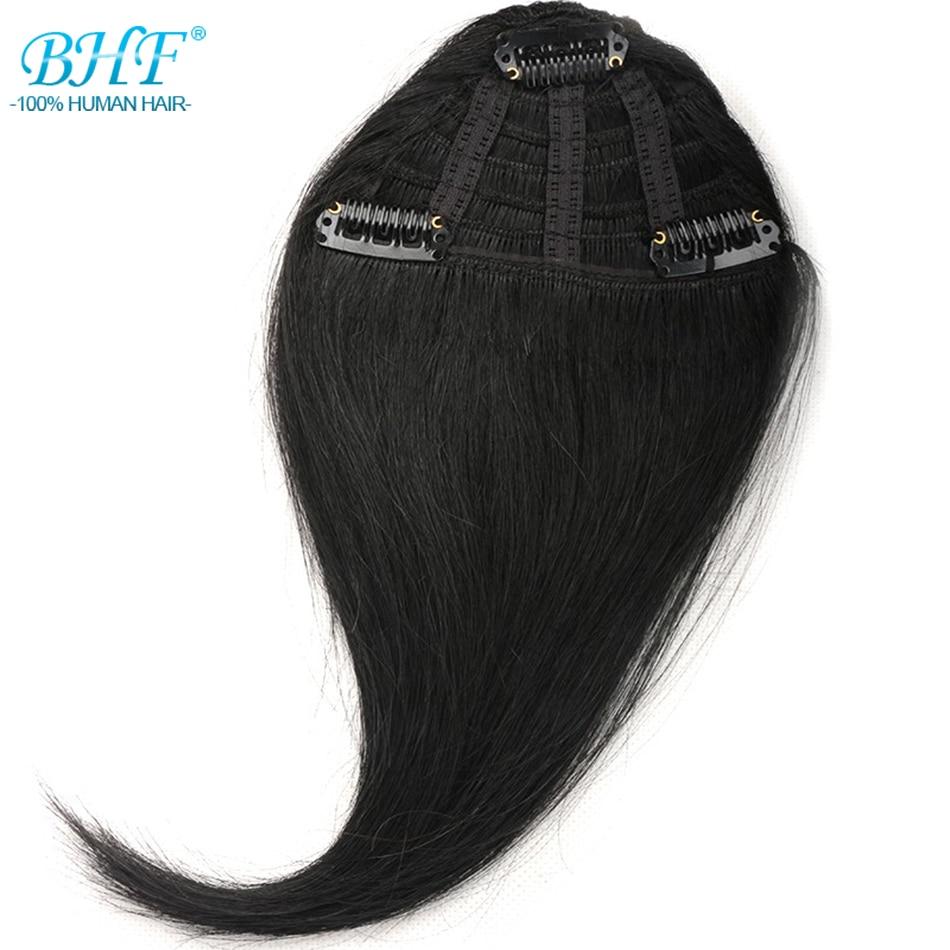 Haarteile Temperamentvoll Bhf Menschliches Haar Pony 8 Zoll Bis 12 Zoll Lang Remy Clip In Haar Fringe 100% Natürliche Haar Bangs