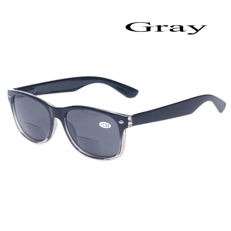 Bifokala läsglasögon Grå linse mode män och kvinnor Vår - Kläder tillbehör - Foto 2