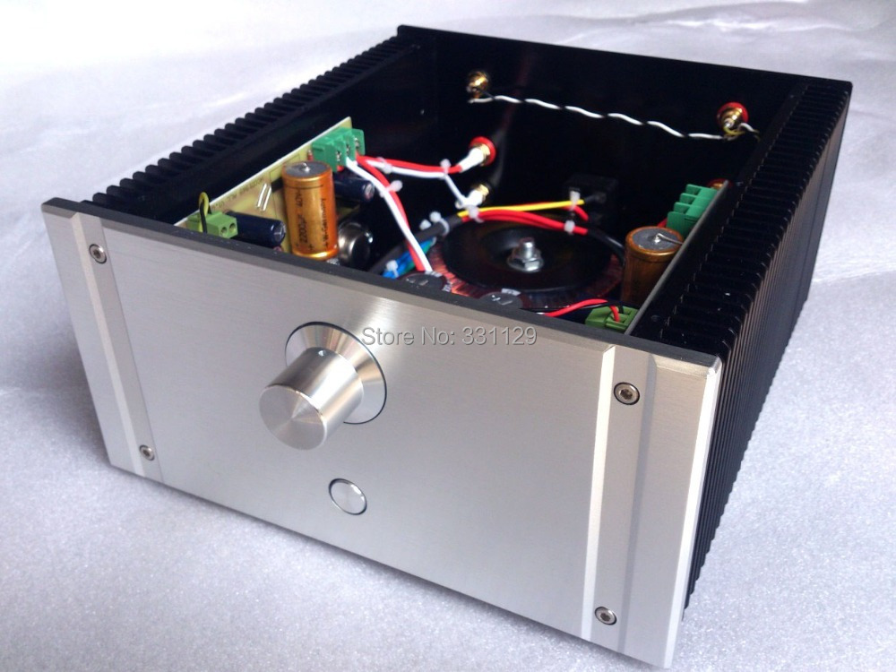 Breeze Audio-custom made With electronic filtering Golden seal version Hood 1969 class A finished power amplifier custom hood protector black