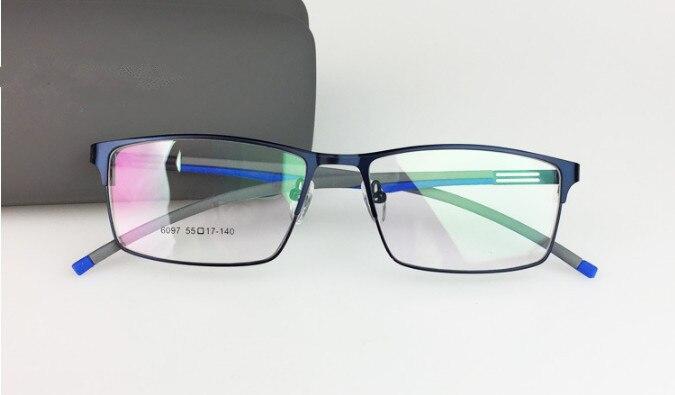 Personalizado multi-focal da lente óculos de miopia homens mulheres liga  óculos de armação de ccf280c78a