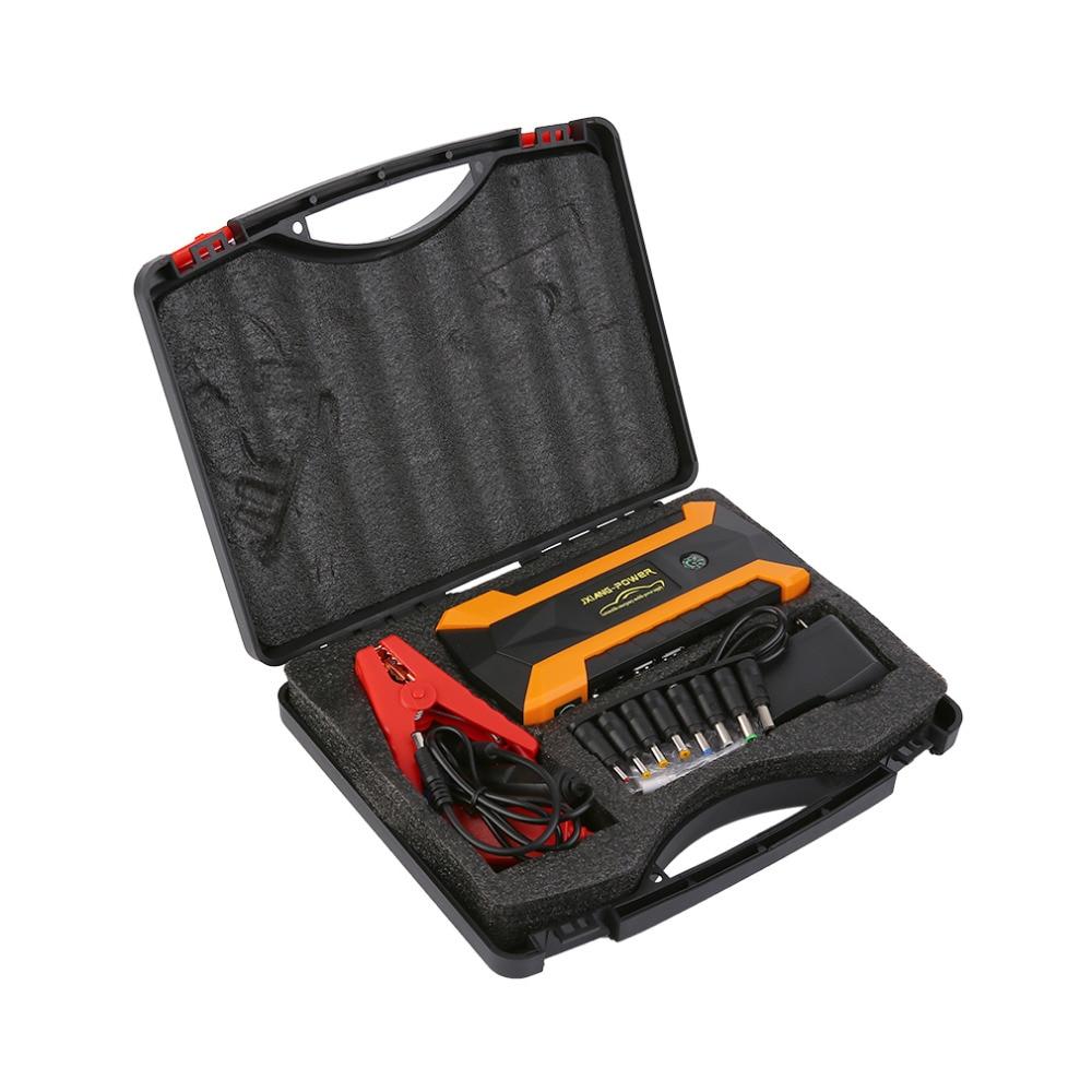 все цены на 1set 12V 89800mah Multi-Function 4USB Car Jump Starter Booster Charger Battery Power Bank Emergency Mobile Power Tool Kit