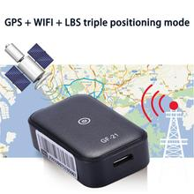 Mini GPS Car Tracker Anti-Lost Device Voice Control Can Recording High-definition Microphone WIFI+LBS+AGPS Positioning