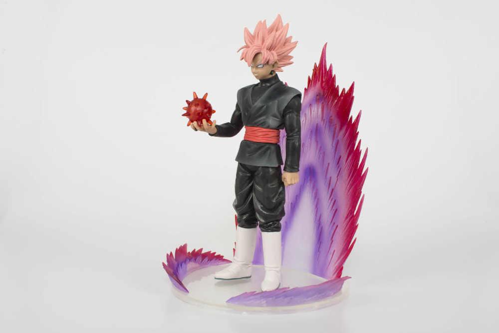 20 centímetros Dragon Ball Son Goku Super Saiyan SUBIU Zamasu Action figure coleção de brinquedos boneca de Natal