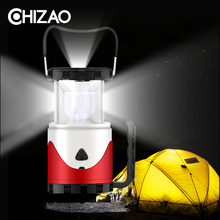 CHIZAO Dimmable Camping Portable Light Flashlight Multifunction Travel Super Bright Tent Lanterns USB Charging