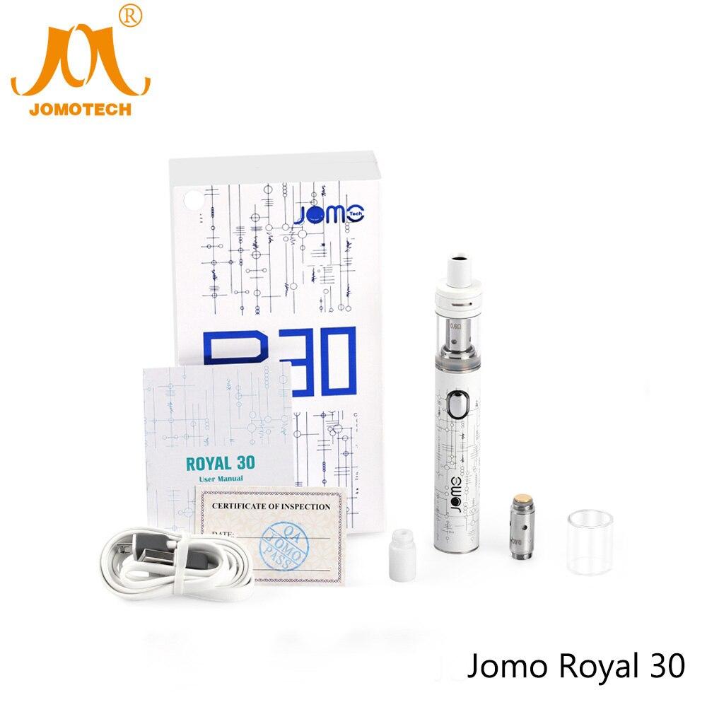 Russian Shipping Jomo New Royal 30 Electronic Cigarette Kit 1300mAh E-cigarette Box Mod 30w Vape Kit VS Istick 30w Jomo-199