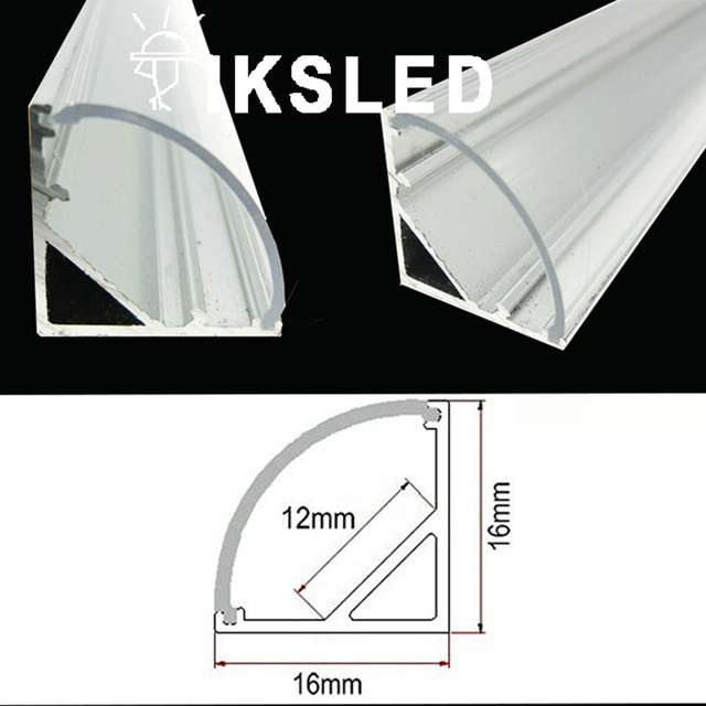 Lot Free Shipping Rigid Led Strip Light V Shape Aluminium Alloy