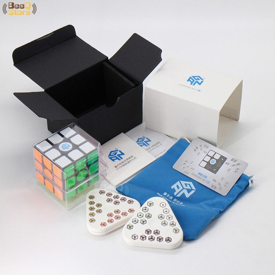 GAN 356 Air SM Cube magique magnétique 3x3x3 vitesse professionnel Puzzle jouet pour enfants avec cadeau magnétique GES v2 autocollants - 3