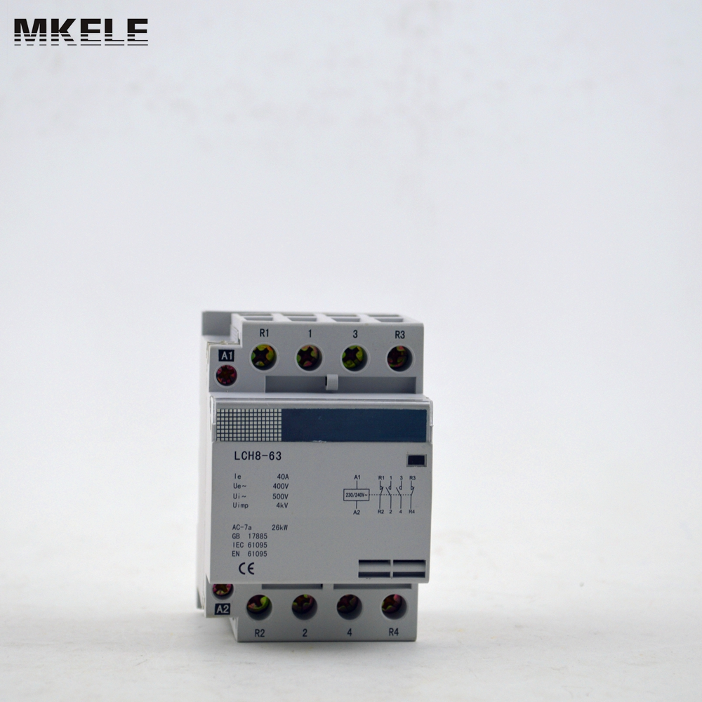 4 Pole Contactor Mk Hac8 63 63a 4p 4no 220v 230v 240v In Contactors 3 Phase Wiring From Home Improvement On Alibaba Group