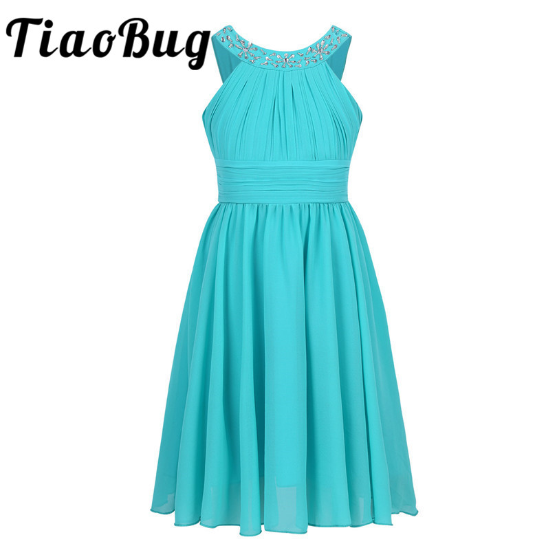 Dresses For Flower Girls For Weddings: Tiaobug Sequins Flower Girls Dresses For Weddings
