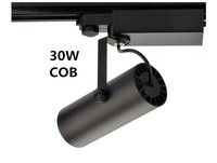 COB 30W Led Track light aluminum Ceiling Rail Track lighting Spot Rail Spotlights Replace Halogen Lamps AC240V IP20