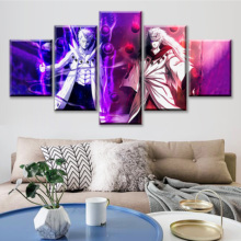 Poster Canvas Print Wall Artwork 5 Pieces Anime Naruto Home Decoration Creative HD Painting Modular Pictures Fashion Living Room