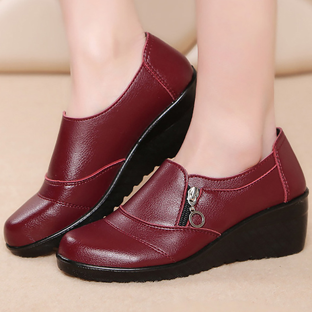 Designer shoes women luxury 2019 new arrival shoes woman flats leather casual shoes platform sapatos feminino