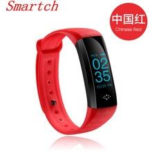 Smartch оригинальный M2S умный браслет Bluetooth трекер сердечного ритма крови Давление монитор