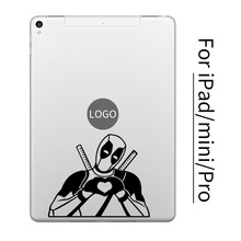 Humor Deadpool Tablet PC Vinyl Sticker for Apple iPad Decal Air Pro Mini 7.9/9.7/10.5/12.9 inch Art Laptop Skin Macbook Sticker