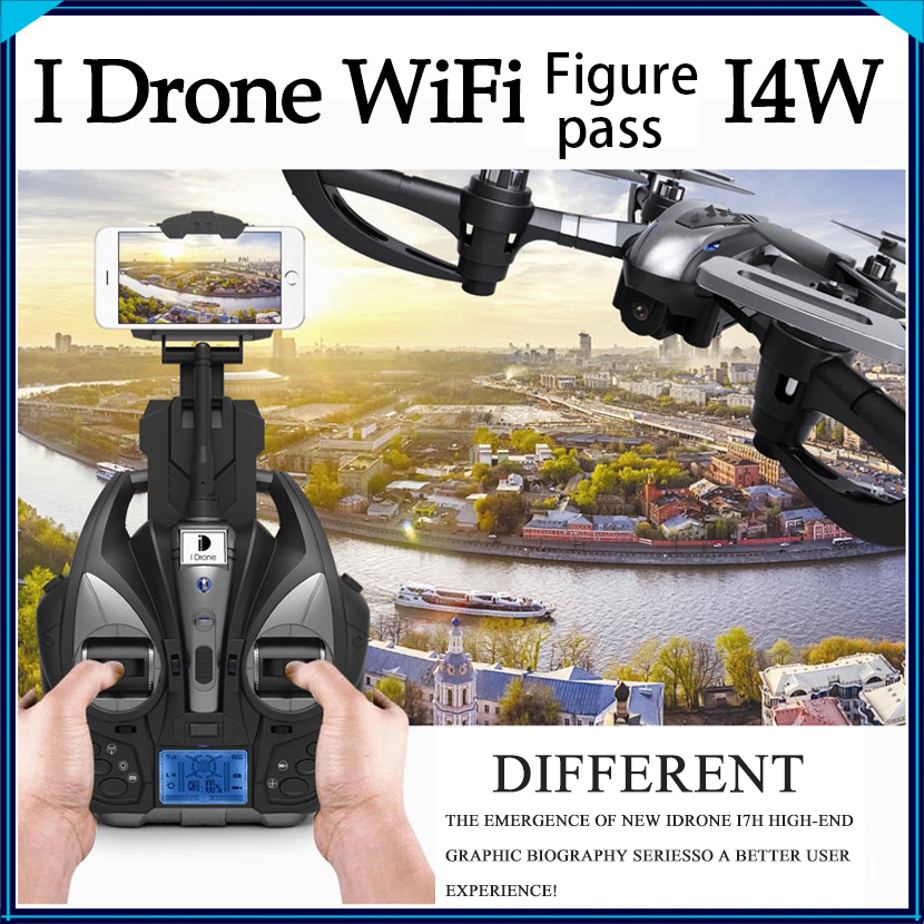 YiZhan i4w I4W RC Drone Wifi FPV Real Time Camera Remote Control Quadcopter Toy Helicoptero Air Plane Aircraft Kid Gift Toys cheerson cx 10wd cx10wd rc drone wifi hd camera video fpv remote control toys uadcopter helicopter aircraft plane children gift