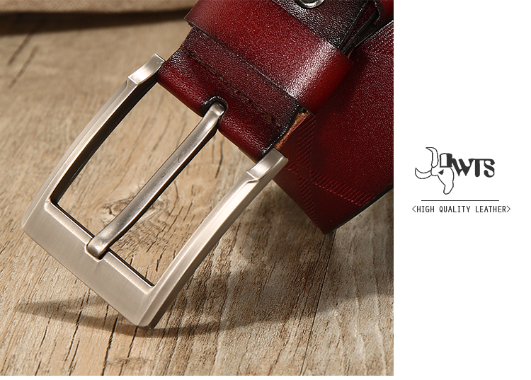 men belts genuine leather