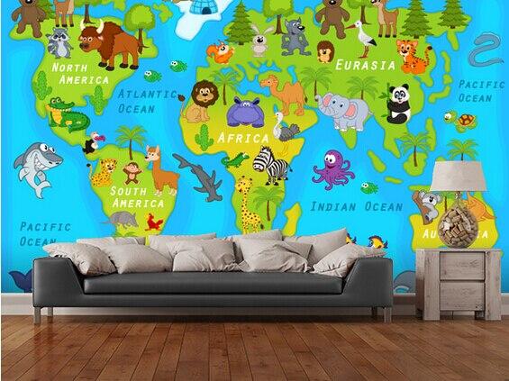 Custom children's wallpaper, 3D cartoon murals for the living room bedroom children's room wall papel de parede infantil cinse korean living room wallpaper 3d wall murals for kids girls bedroom wedding room papel de parede infantil floral 3d behang