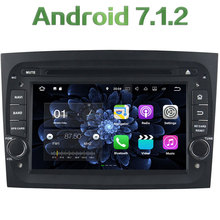 Quad Core 2GB RAM 16GB ROM 7″ Android 7.1.2 Car Multimedia Stereo GPS Navigation touch screen radio player for Fiat Doblo 2016