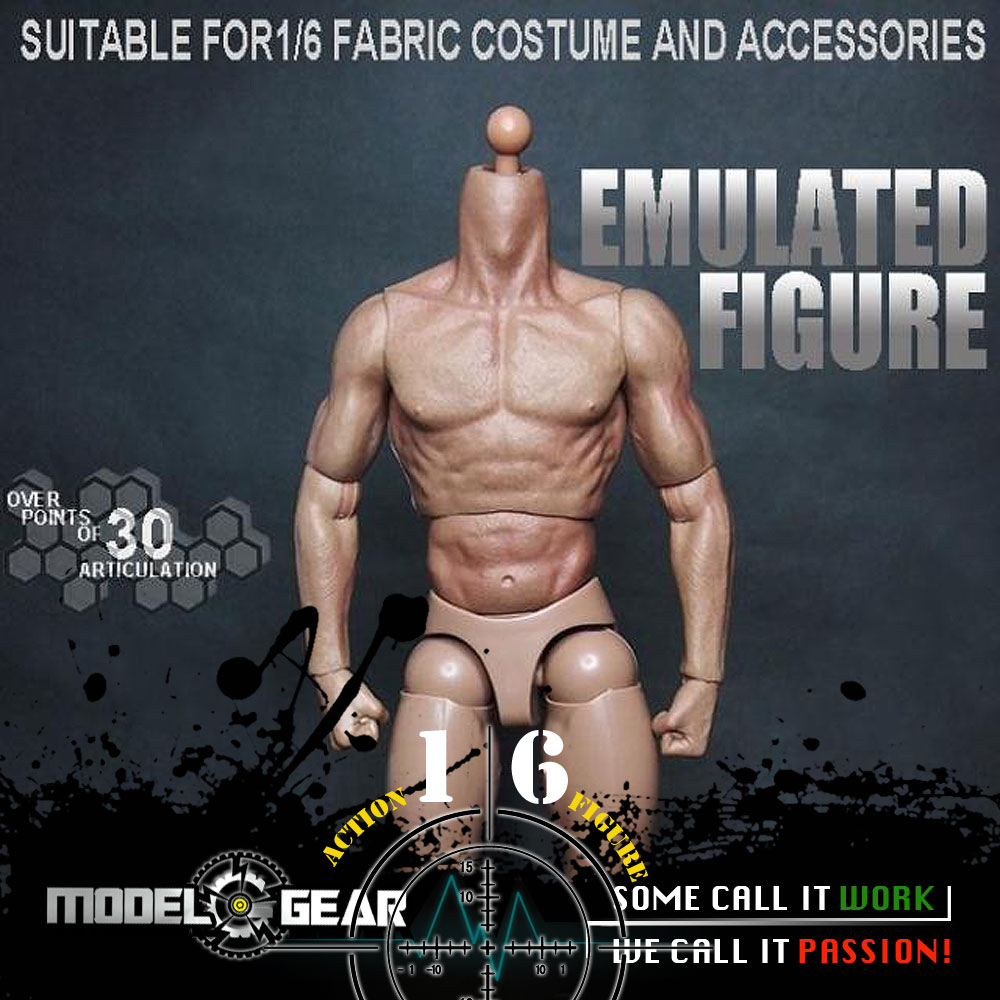 1/6 Scale ZC TOYS Emulated Figure Male Nude Muscular Body  Suitable for 12'' Model Toy big commercial deep fryer electric spiral potato fryer 25l zf