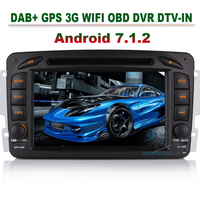 7 DAB Radio Bluetoot CAM IN Android 7 1 2 Stereo GPS Sat Nav Car Dvd