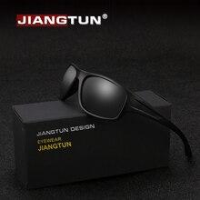 JIANGTUN новейшие спортивные солнцезащитные очки Мужские поляризационные UV400 походные солнцезащитные очки для вождения уличные солнцезащитные очки унисекс Oculos Gafas JT8702