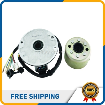 Free Shipping Motorcycle Accessies High Speed Motor Kits Stator And Rotor Magnet Coil For ZongShen ZS 155cc Oil-cooled Engine