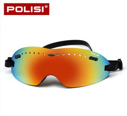 POLISI Brand Professional Ski Goggles Anti-fog UV400 big Spherical Ski Glasses Skiing Men Women Snow Childrens Ski Goggles ...