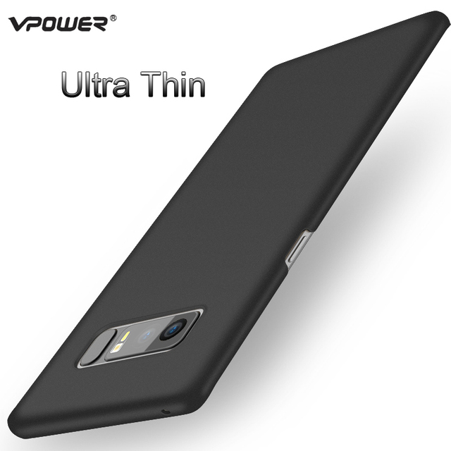 for Samsung Note 8 case Samsung galaxy Note8 cover Vpower Ultra Thin PC hard protection Case For Samsung Note 8 phone back cover