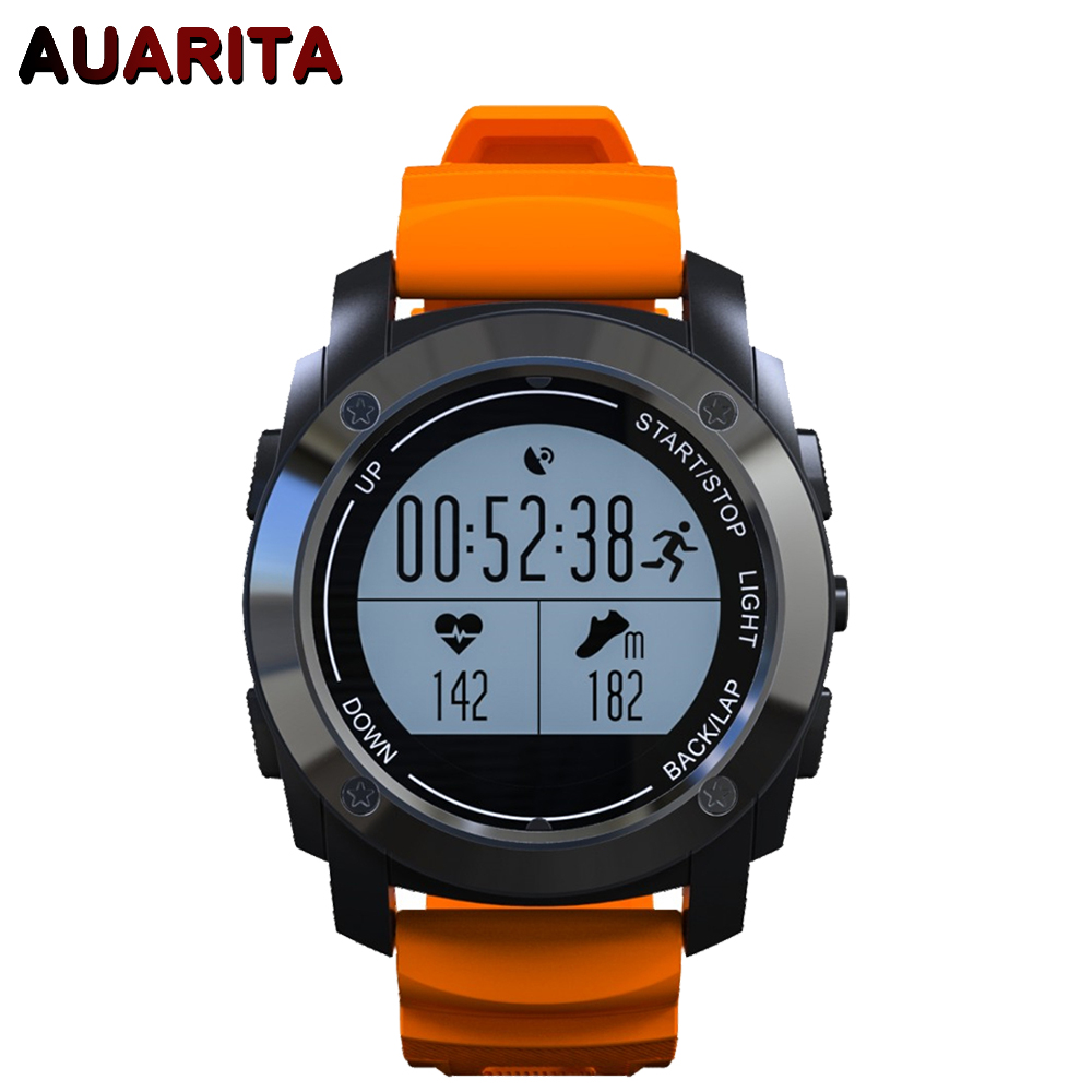 Smartch S928 GPS Outdoor Sports Smart Watch IP66 Life Waterproof with Heart Rate Monitor Pressure for Android4.3 IOS8.0 above цена